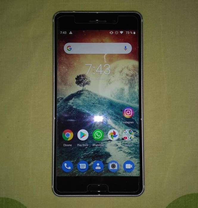 Nokia 6 - 3gb de Ram y 32gb de memoria interna - Android 9 Pie