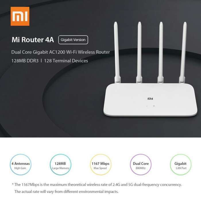 Mi Xiaomi Router 4a