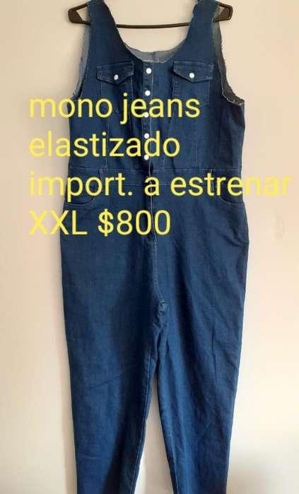 Mono <strong>jeans</strong> Semi Elastizado Xxl 800