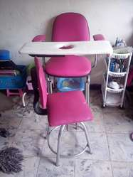 Se vende silla manicura y labacabeza  informacin 3128727312