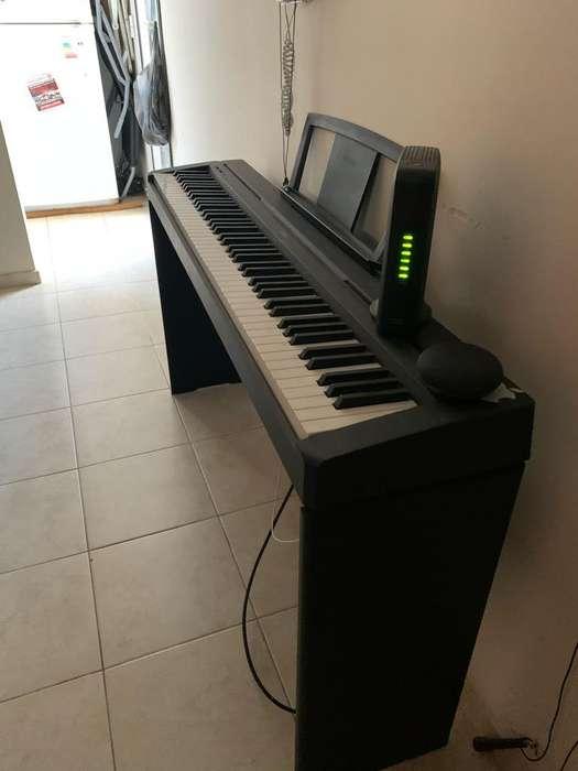 Piano Digital YamahaP45-Mueble-Funda