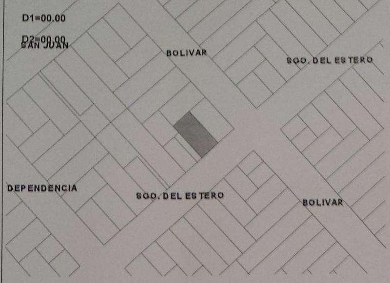 Lote centro Santiago del Estero 920- 10 * 20- ideal para construir hasta 6 pisos