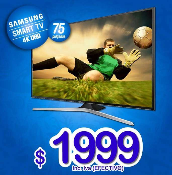 SAMSUNG SMART TV 4K 75