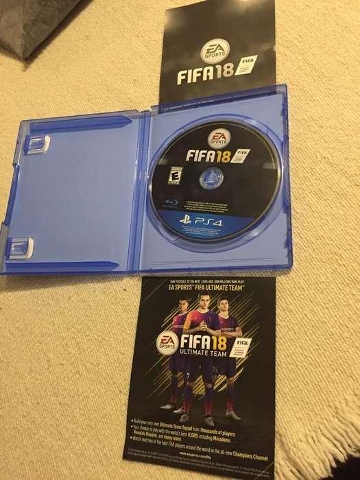FIFA18 PS4 fisico Original