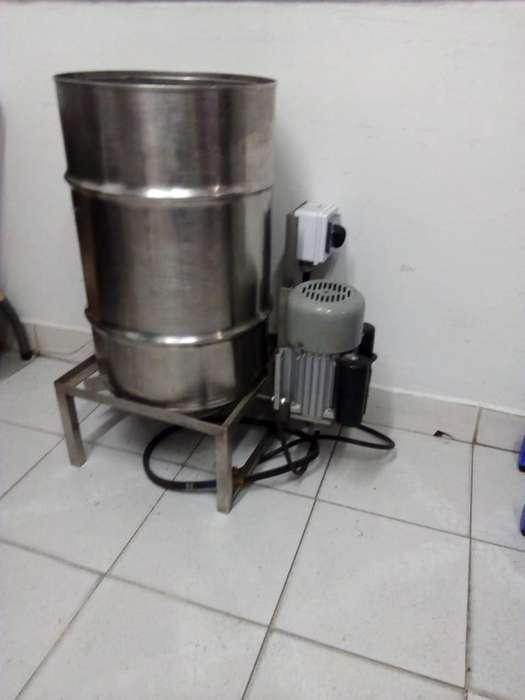 Maquina peladora de papas