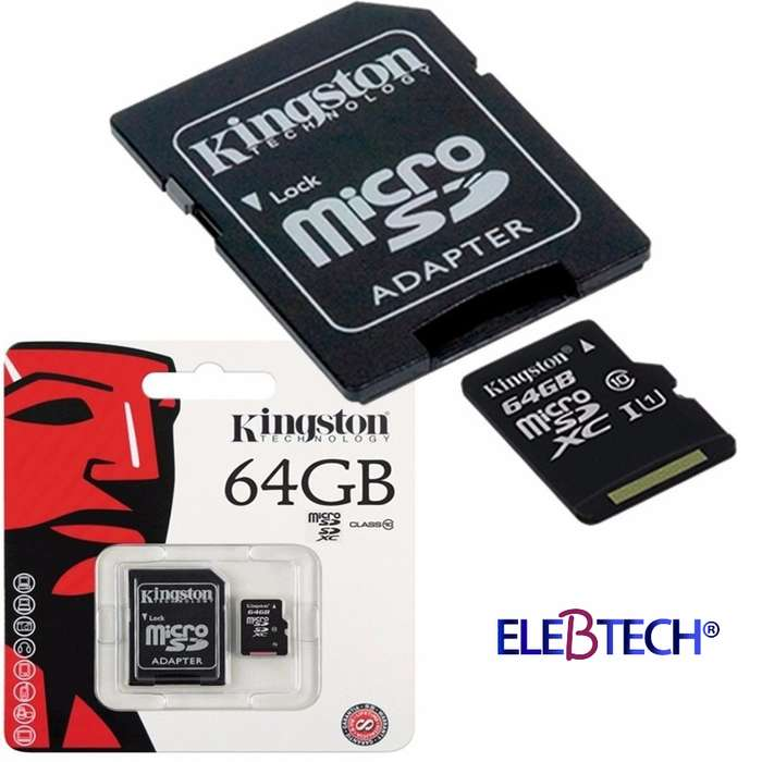 Memoria Micro Sd 64gb Kingston / Class 10