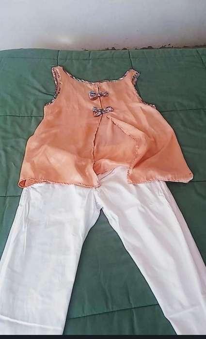 Pantalon Y Musculosa