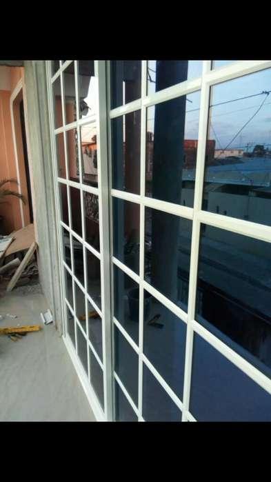 <strong>ventana</strong> Aluminio,puertas Vidrio Templado