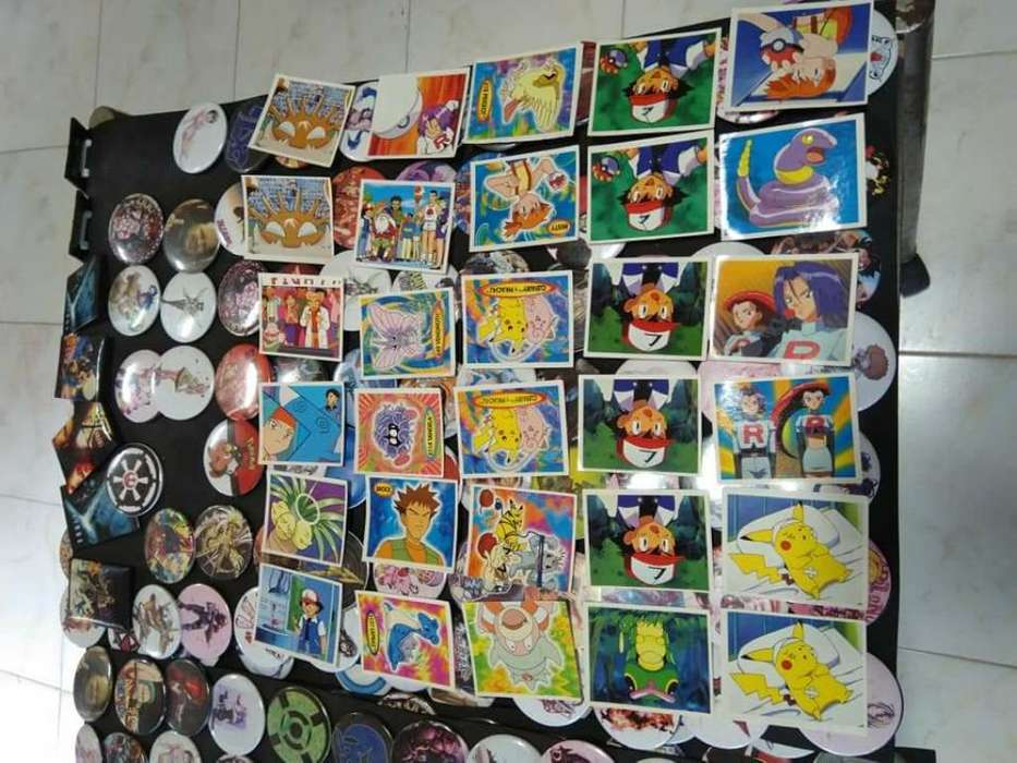 Lote de Figuritas Pokémon Años 90