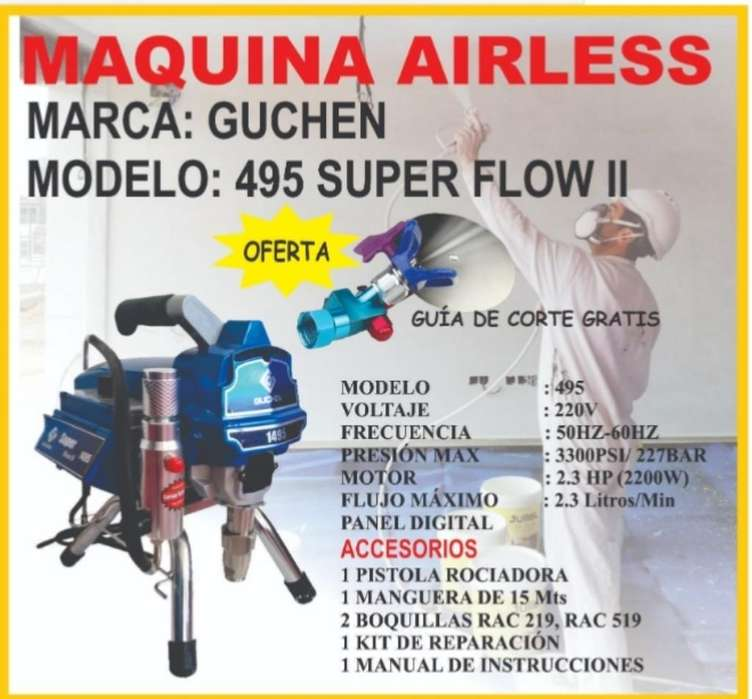 Maquina Airless Guchen
