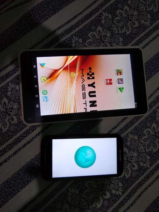 Vendo Tablet Y Moto E