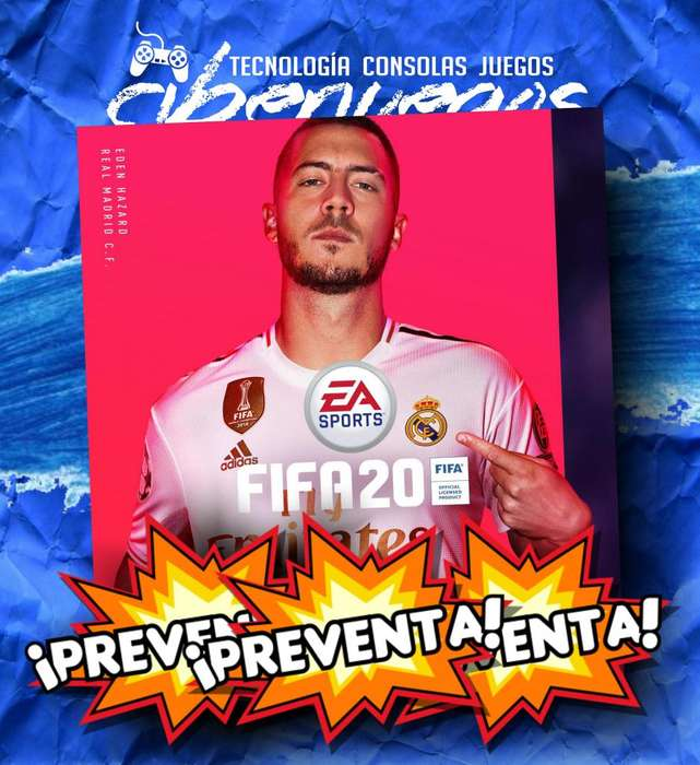 PREVENTA FIFA 20 PARA PS4 Y XBOXONE MAR DEL PLATA