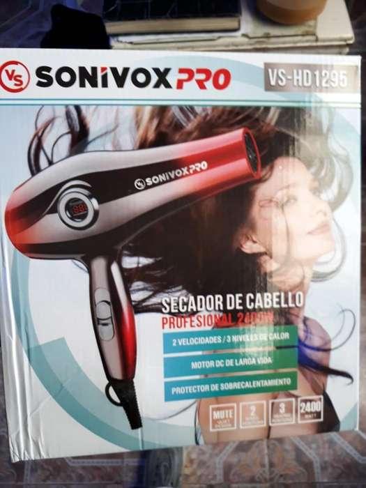 Secador Sonyvox Nuevo Pantalla Digital