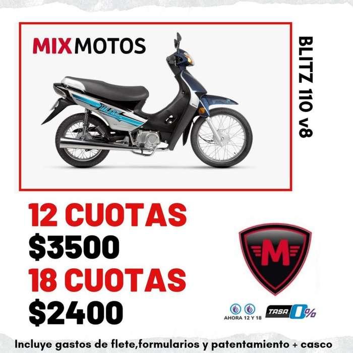 MOTO MOTOMEL BLITZ 110 BASE OKM 2019