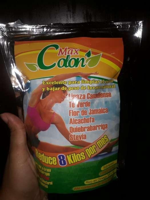 Max Colon Reduce 8 Kilos X Mes