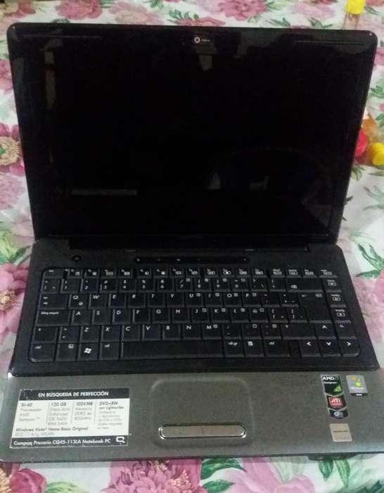 Laptop Compaq Presario CQ45 para repuesto