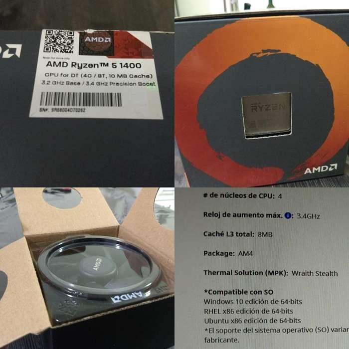 Amd ryzen 5 1400 <strong>memoria</strong>s ram 16 GB 2400 MHZ ballistix