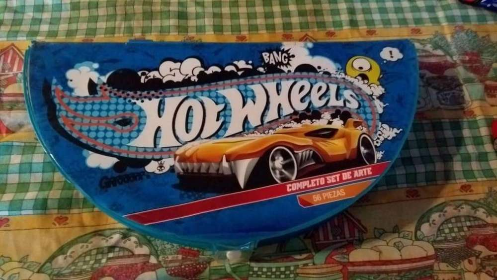hot wheels set de arte