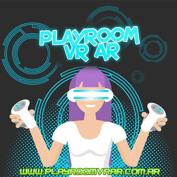 Alquiler Juegos Vr Realidad Virtual Htc Vive Oculus Arcade