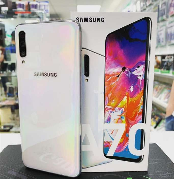 Samsung A70 128gb Sellados Garantía