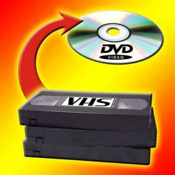Se Pasa de Vhs a Dvd