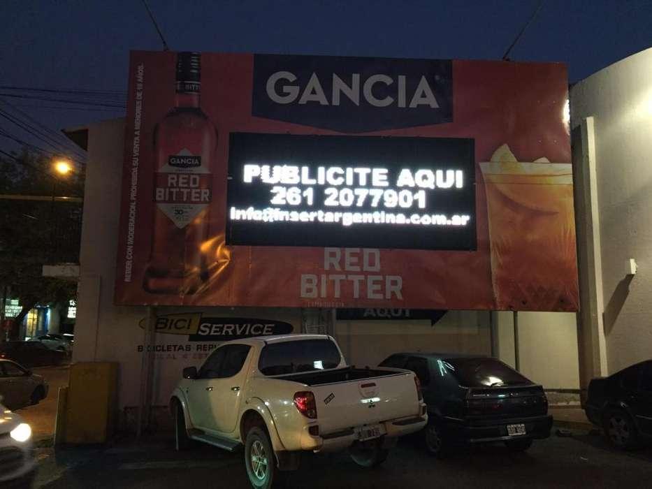 Pantalla LED publicidad, boliches, fiestas , eventos.