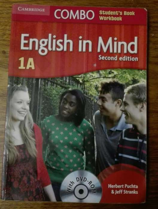 English In Mind Level 1a Combo A With <strong>dvd</strong>-rom Herbert Puchta. SECOND EDITION. CAMBRIDGE. OLXRoxyLibros