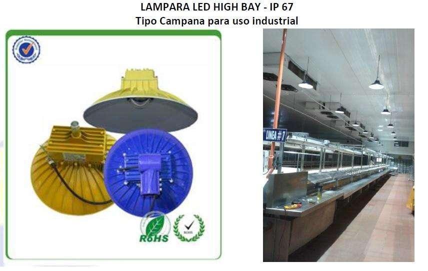 Lamparas LED tipo <strong>campana</strong>