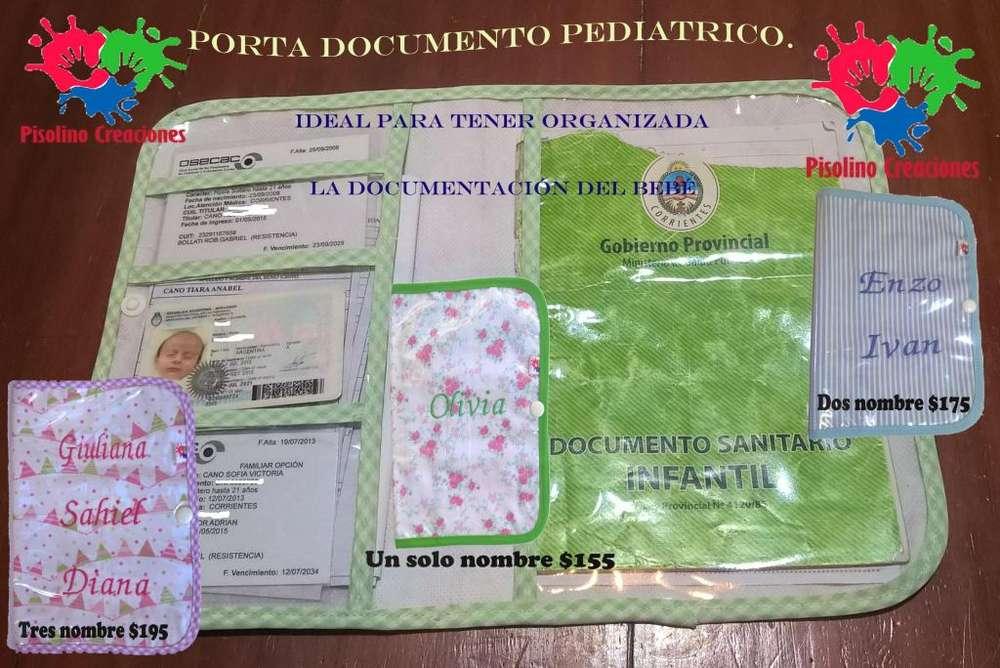 porta documento pediatrico