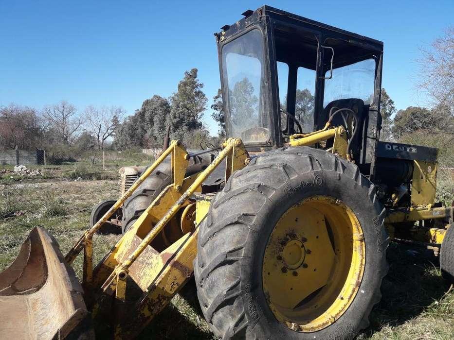 tractor con pala deuzt a 70