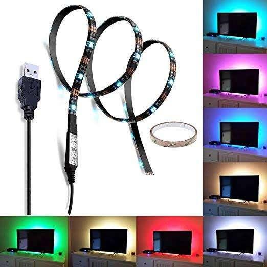 Luz LED cables USB