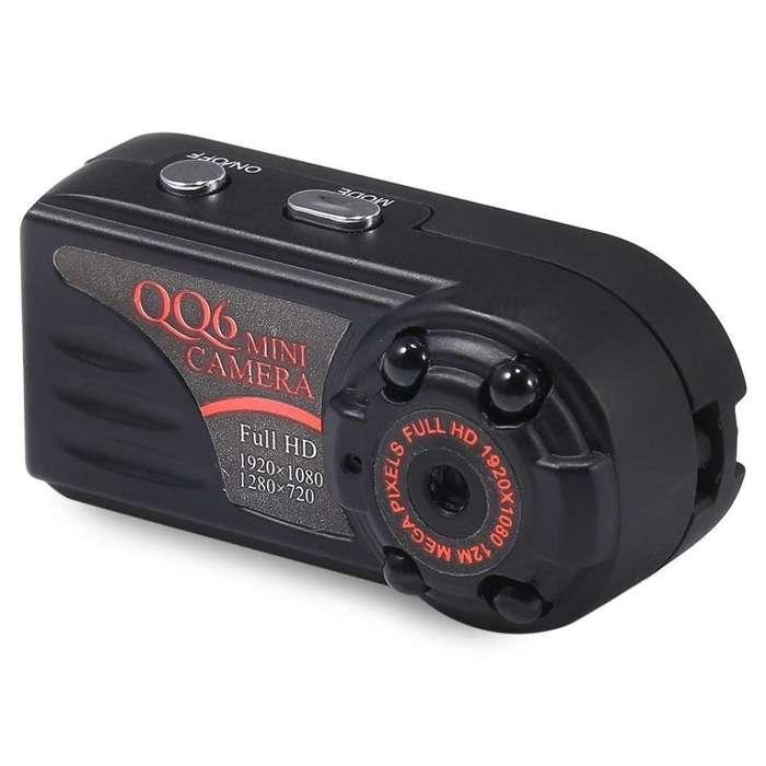 QQ6 Camara Mini Espía 1080p FullHd V.Nocturna S.Movimiento 160