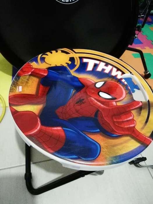 Silla Spiderman. Niño