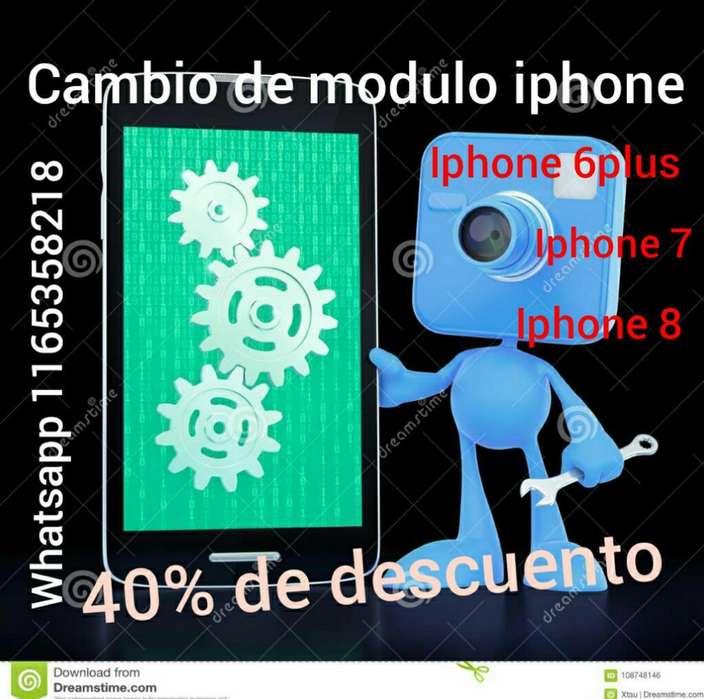 Cambio Modulo Iphones
