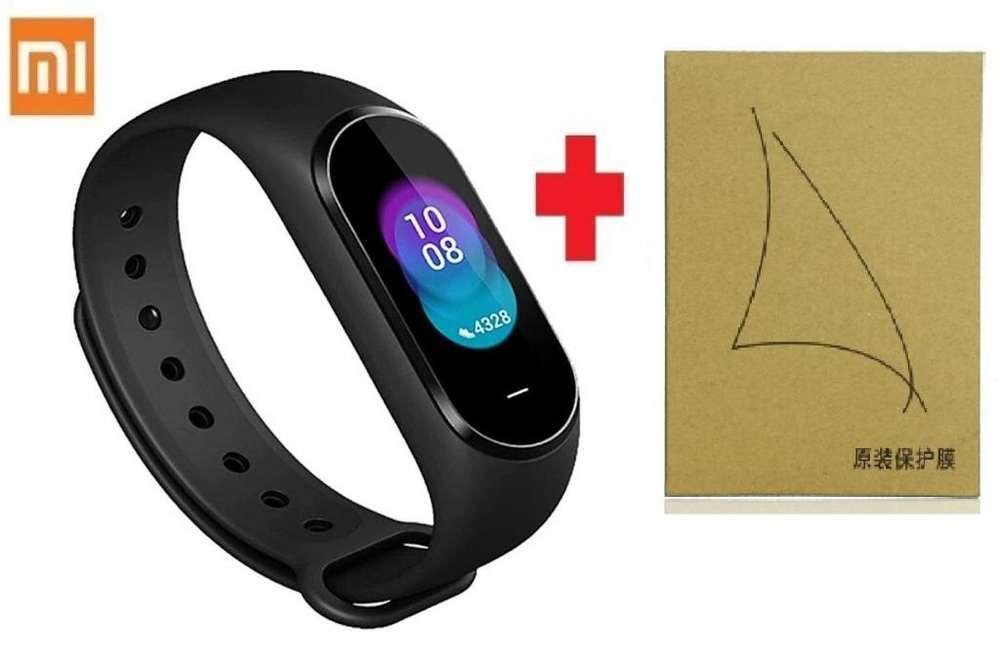 Xiaomi Mi Band 4 Smartband Reloj Pulsómetro Incluye Pack Protector