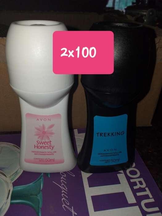 Desodorantes Dos X