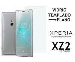 Funda Tpu Vidrio Templado Plano Sony Xperia Xz2 Rosario