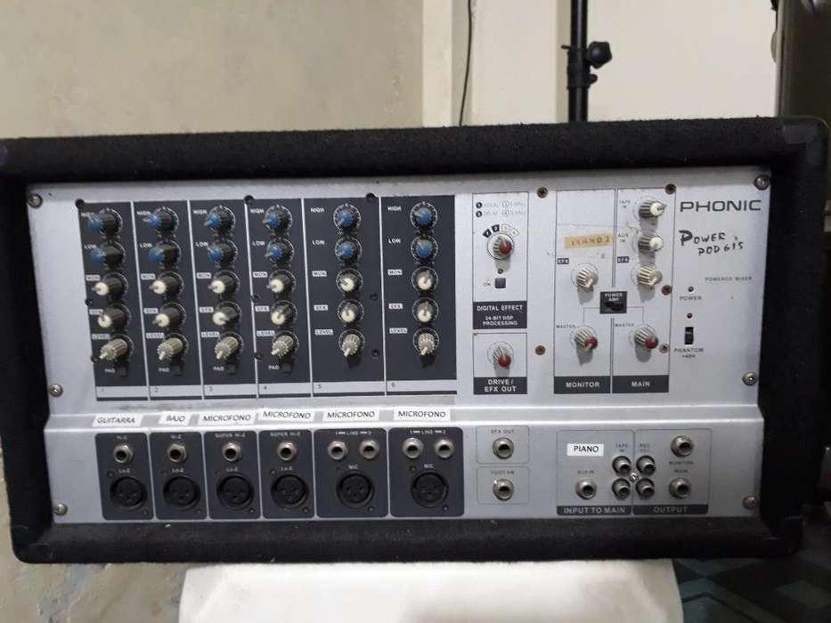 Amplificador con 7 Salidas