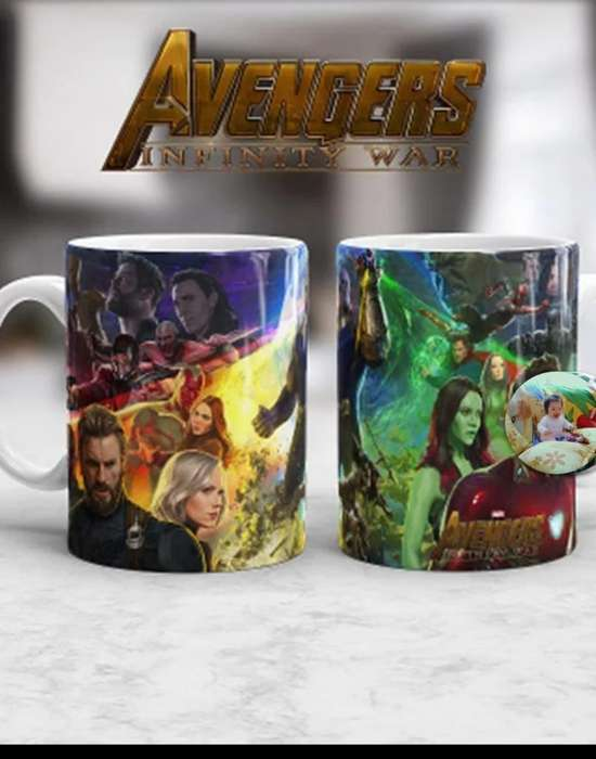 Taza Mágica Avengers End Game