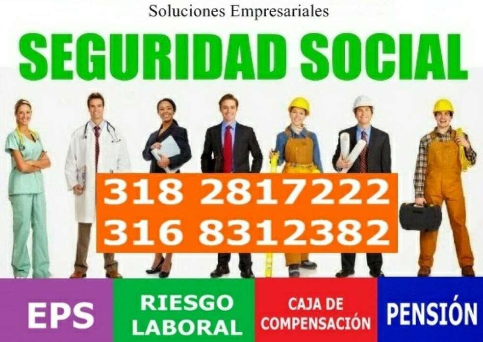 Afiliaciones en Seguridad Social