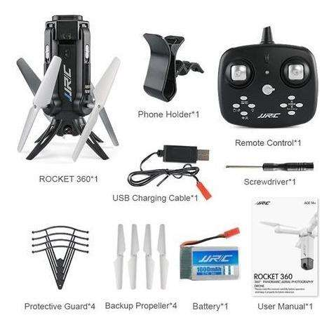 dron jjrc h51 dron cohete