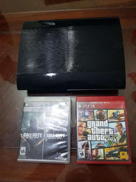 Play Station 3 Poco Uso