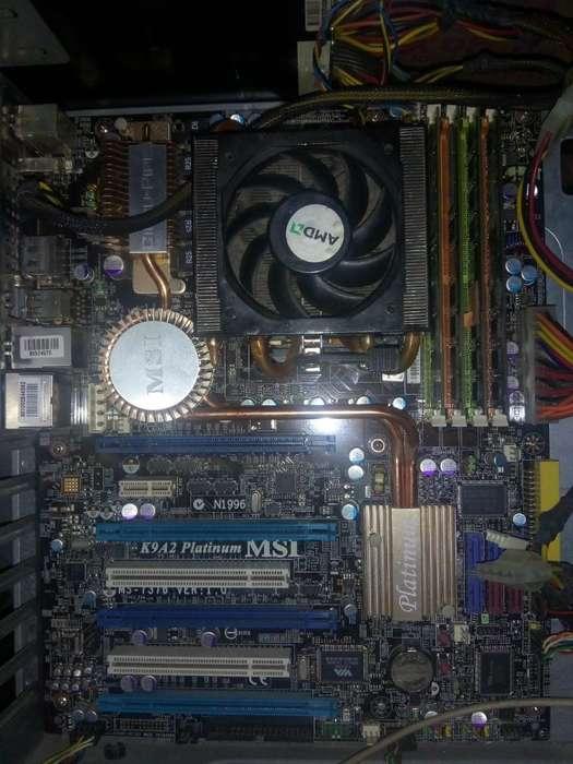 Combo Board Procesador 8gb Ram Y Gráfica