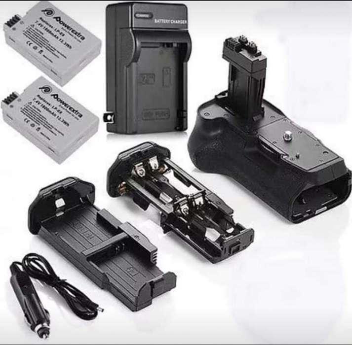 Kit Grip de Batería 2 Batería Lp-e8