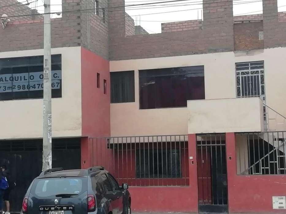 Alquilo oficina o local 73 m2 2do piso. Av. Las Palmeras cdra 54 - Los Olivos