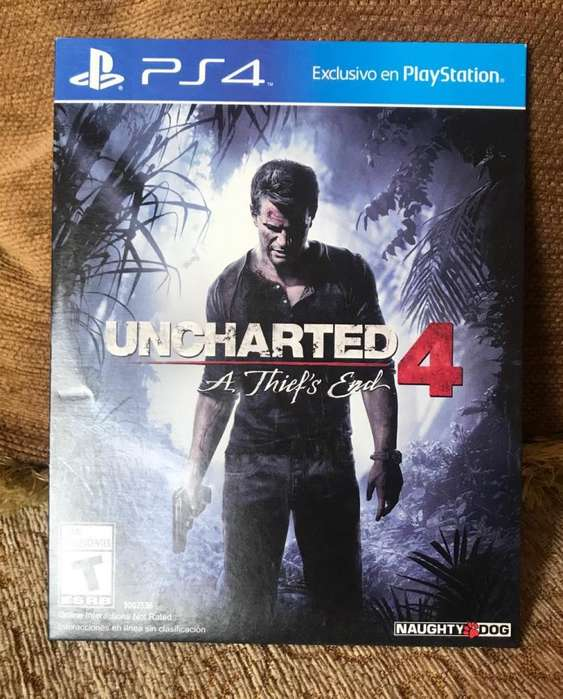 Juegos Ps4 Play Station 4 Uncharted 4 y Dying Ligth Físicos