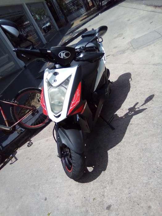 vendo remate MOTO KIMKO AGYILITY NAKED 125cc