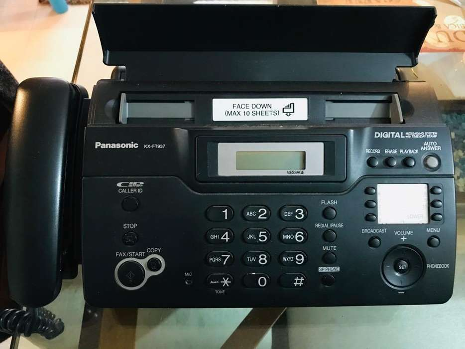 VENDO <strong>fax</strong> Panasonic KX-FT937