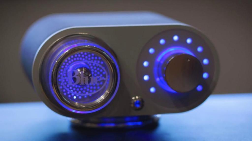 Increible Pre Amplificador Válvular Blue Robbie para microfonos