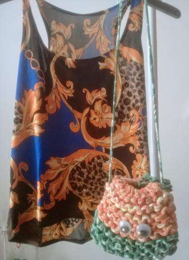 Musculosa Talle Único Y <strong>cartera</strong>